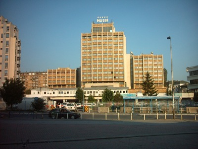 Das Grand Hotel in Prishtina