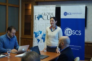 "Oana Popescu : ""EU enlargement must be a process of shared responsibilities"""