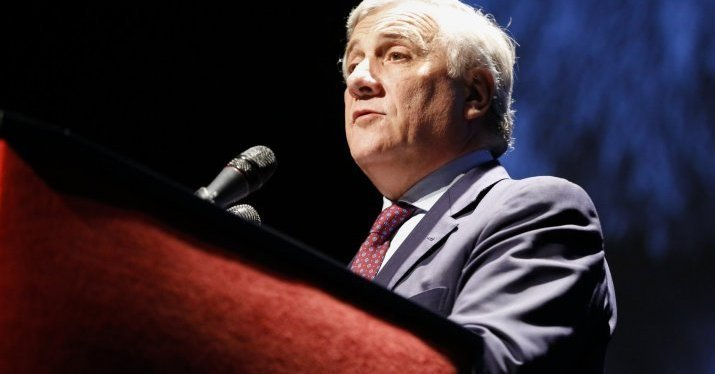 "Antonio Tajani on the European project's future : ""We have to be brave"""