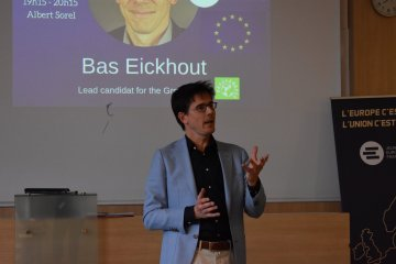 Bas Eickhout: 'Greens are pro-European, pro-change'