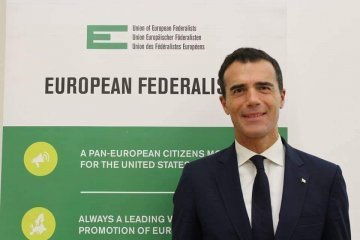 Union of European Federalists elects Sandro Gozi as new president