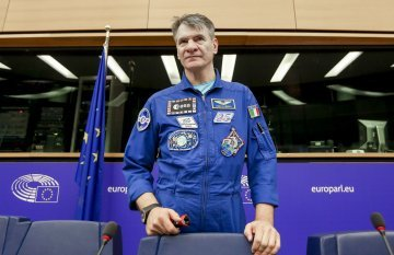 Protecting and viewing the planet from the space: an interview with astronaut Paolo Nespoli