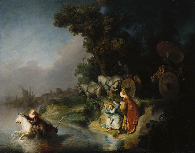The Abduction of Europa, Rembrandt, 1632